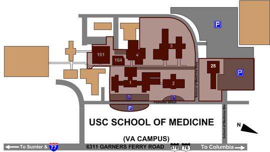 Maps - University of South Carolina School of Medicine